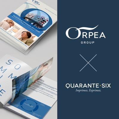Collaboration Orpea X Quarante Six